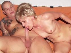 Naughty Granny Fucked by a Younger Man-1