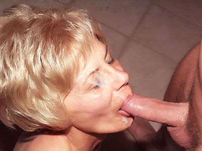 Naughty Granny Fucked by a Younger Man